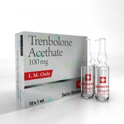 Trembolona Acethate 100mg Suizo Remedios