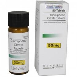 Clomiphene citrate (clomiphene citrate) 50 mg/tab (50 tabs) Genesis