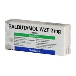 Salbutamolo WZF Polfa (salbutamolum) 2 mg/tab. (30 tab.)