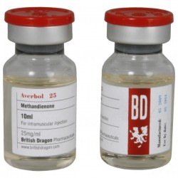 Averbol 25 (British Dragon) 25 mg/ml soluzione iniettabile methandienone)