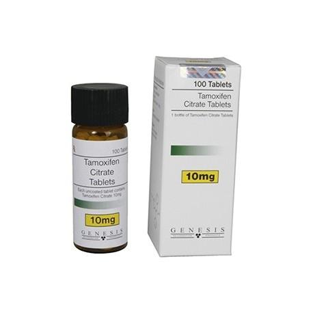 Citrato de tamoxifeno Génesis, 100 tabs / 10 mg