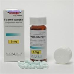 Fluoxymesterone Genesis, 100 tabs / 5 mg (Halotestin)