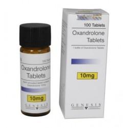 Oxandrolone Genesis, 100 tabs / 10 mg
