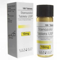 Stanozolol Genesis, 100 tabs / 10 mg